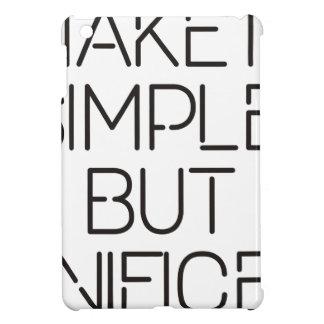Make it simple. case for the iPad mini