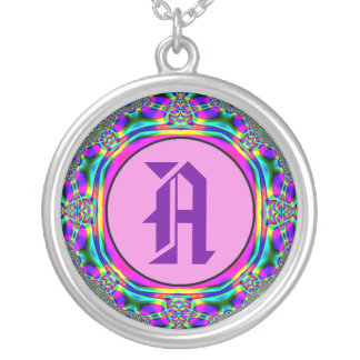 """""""Make it Your Initial"""" Rainbow Colors Necklace"""