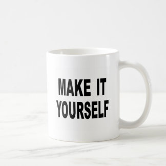 Make It Yourself Custom Coffee Mug