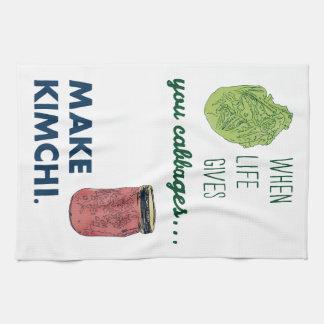 Make Kimchi! Tea Towel