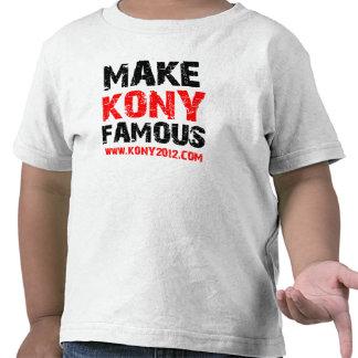 Make Kony Famous - Kony 2012 Shirts