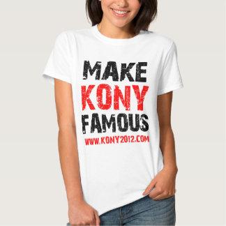 Make Kony Famous - Kony 2012 Tshirt