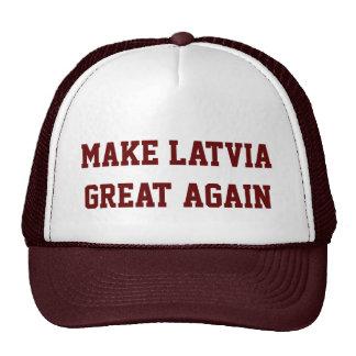 Make Latvia Great Again Cap