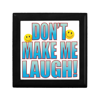 Make Laugh Life B Small Square Gift Box