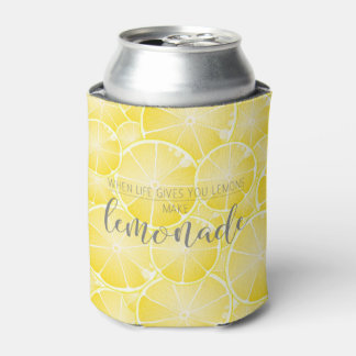 Make Lemonade Can Cooler