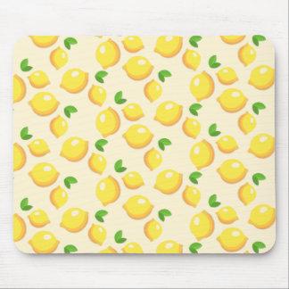 Make Lemonade - Sweet Yellow Lemon Print Mouse Pad