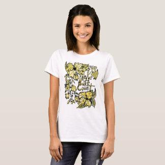 Make Life Count   T - Shirt  Yellow
