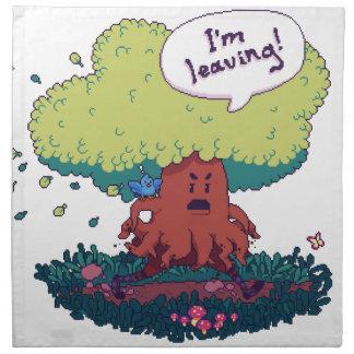 Make Like a Tree Napkin