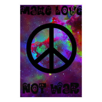 Make Love Not War I Poster