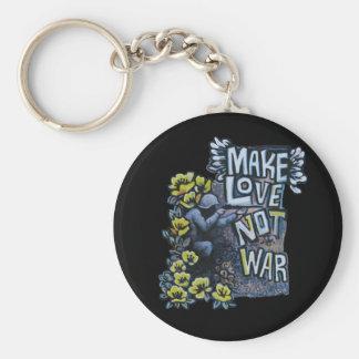 Make Love, Not War: Propaganda Products Key Chain