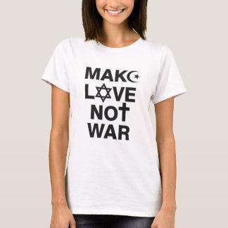 Make Love Not War Religions T-Shirt