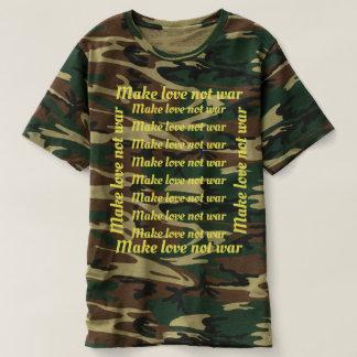 Make love not war/T-shirt, apparel design T-Shirt