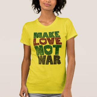 Make Love Not War, Vintage T-Shirt