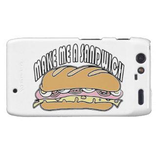 Make Me A Sandwich Motorola Droid RAZR Covers