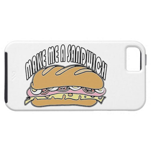 Make Me A Sandwich iPhone 5 Covers