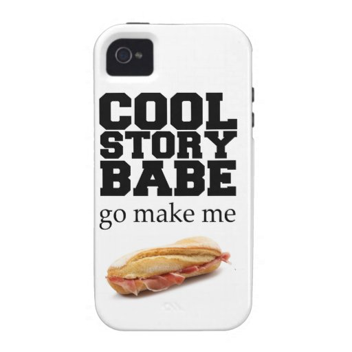 Make Me a Sandwich iPhone 4 Covers