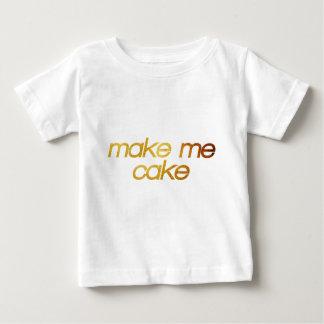 Make me cake! I'm hungry! Trendy foodie Baby T-Shirt