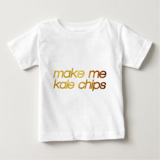 Make me kale chips! I'm hungry! Trendy foodie Baby T-Shirt