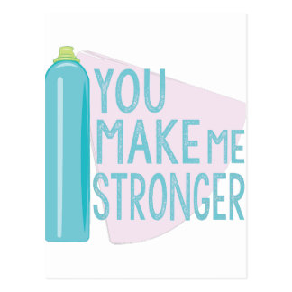 Make Me Stronger Postcard