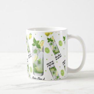Make Mine A Gin And Tonic Classic White Mug