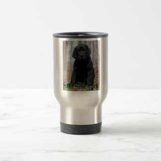 Make Mine Black Travel Mug