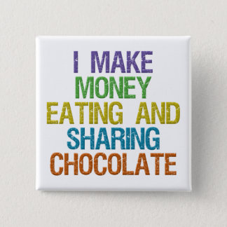 Make Money 15 Cm Square Badge