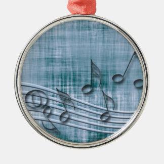 Make music 03 blue ornaments
