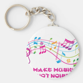 MAKE MUSIC NOT NOISE MAKES MUSIC NOT NOISE KEY RING