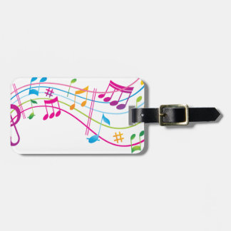 MAKE MUSIC NOT NOISE MAKES MUSIC NOT NOISE LUGGAGE TAG