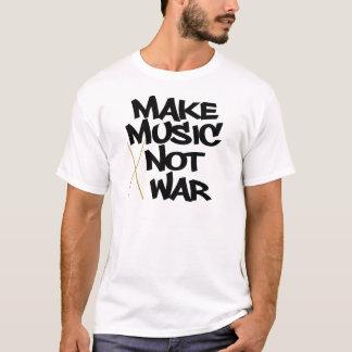 Make Music Not War (Drums) T-Shirt