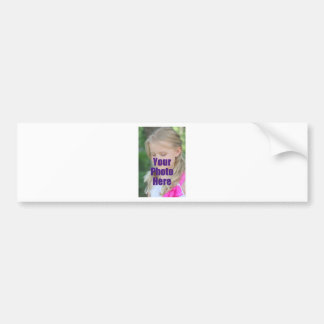 MAKE MY OWN PERSONALIZED PHOTO Christmas Gift Xmas Bumper Stickers