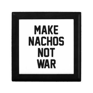 Make Nachos Not War Gift Box