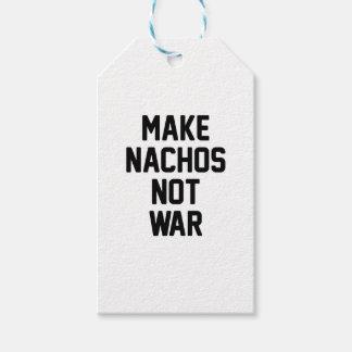 Make Nachos Not War Gift Tags