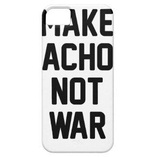 Make Nachos Not War iPhone 5 Cases