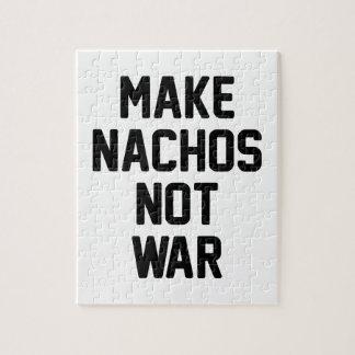 Make Nachos Not War Jigsaw Puzzle
