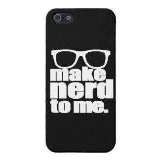 Make Nerd to Me Case For The iPhone 5