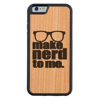 Make Nerd to Me Cherry iPhone 6 Bumper Case