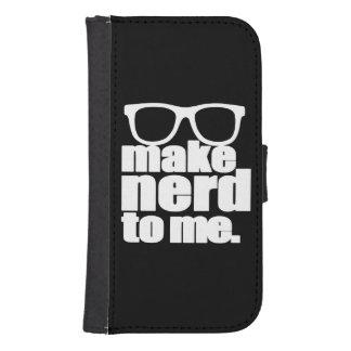 Make Nerd to Me Samsung S4 Wallet Case