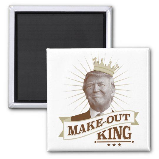 Make-Out King Magnet