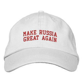Make Russia Great Again Baseball Cap