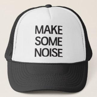 Make some noise trucker hat