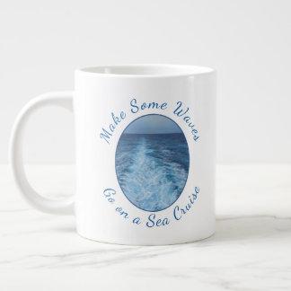 Make Some Waves Sea Cruise Giant Coffee Mug