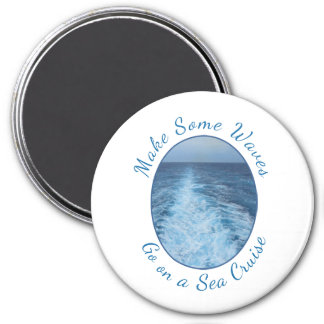 Make Some Waves Sea Cruise Magnet