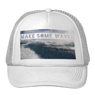 MAKE SOME WAVES SNAPBACK HAT