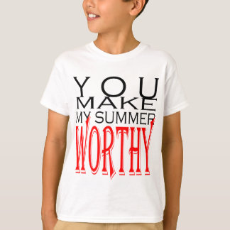 make summer worthy flirt teenage memory hot black T-Shirt