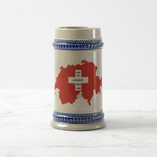 Make switzerland Great again Beer Stein