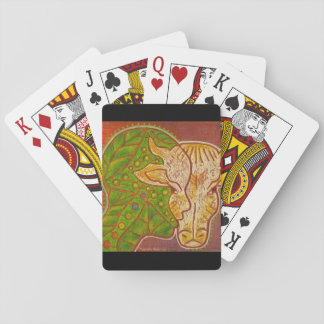 Make the connection - Cow and human Playing Cards