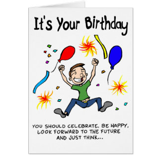 Make The Most Of Your Birthday Card