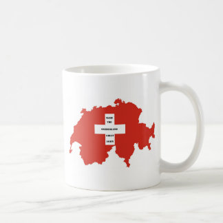make the switzerland great again coffee mug