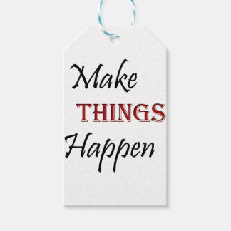 Make Things Happen Gift Tags